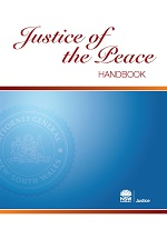 Justice of the Peace Handbook Cover